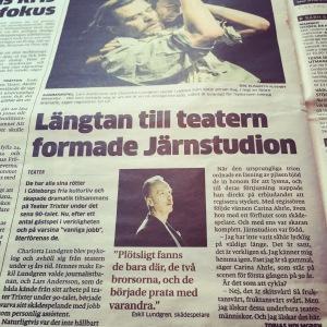 Förhandsreportage Göteborgs-Posten