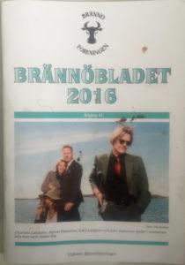 Brännöbladet satte Järnstudion på omslaget.